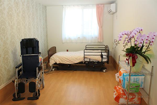 ナーシングホームこころでご利用いただける居室の写真
